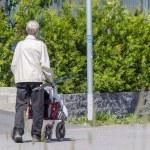 Old Man Walking — Stock Photo #11446068