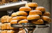 Donut stapel — Stockfoto