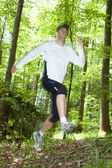 Trail runner — Stock Photo
