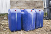 Jerrycans — Stock Photo