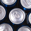 Lots of soda cans — Stock Photo