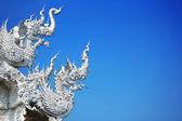 Beautiful Temple in Thailand, Wat Rong Khun, Chiang Rai province — Stock Photo