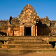 Phanom Rung castle historical park,Ancient temple and monument i — Stock Photo