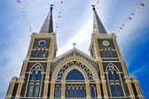 Kościół w Tajlandii — Zdjęcie stockowe
