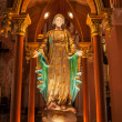 Stock Photo: Beautiful Statue mariin church