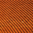 Royalty-Free Stock Photo: Roof pattern