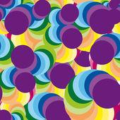 Colorful stock vector disco background — Stock Vector