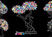 Abstract tree. — Stock Vector