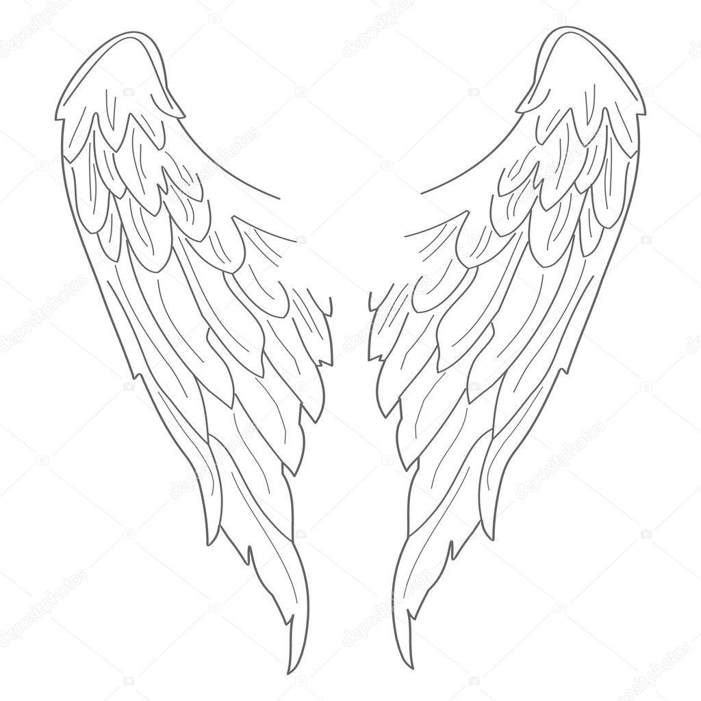 带翅膀的黑十字架