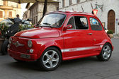 Fiat abarth 500 — Stock Photo
