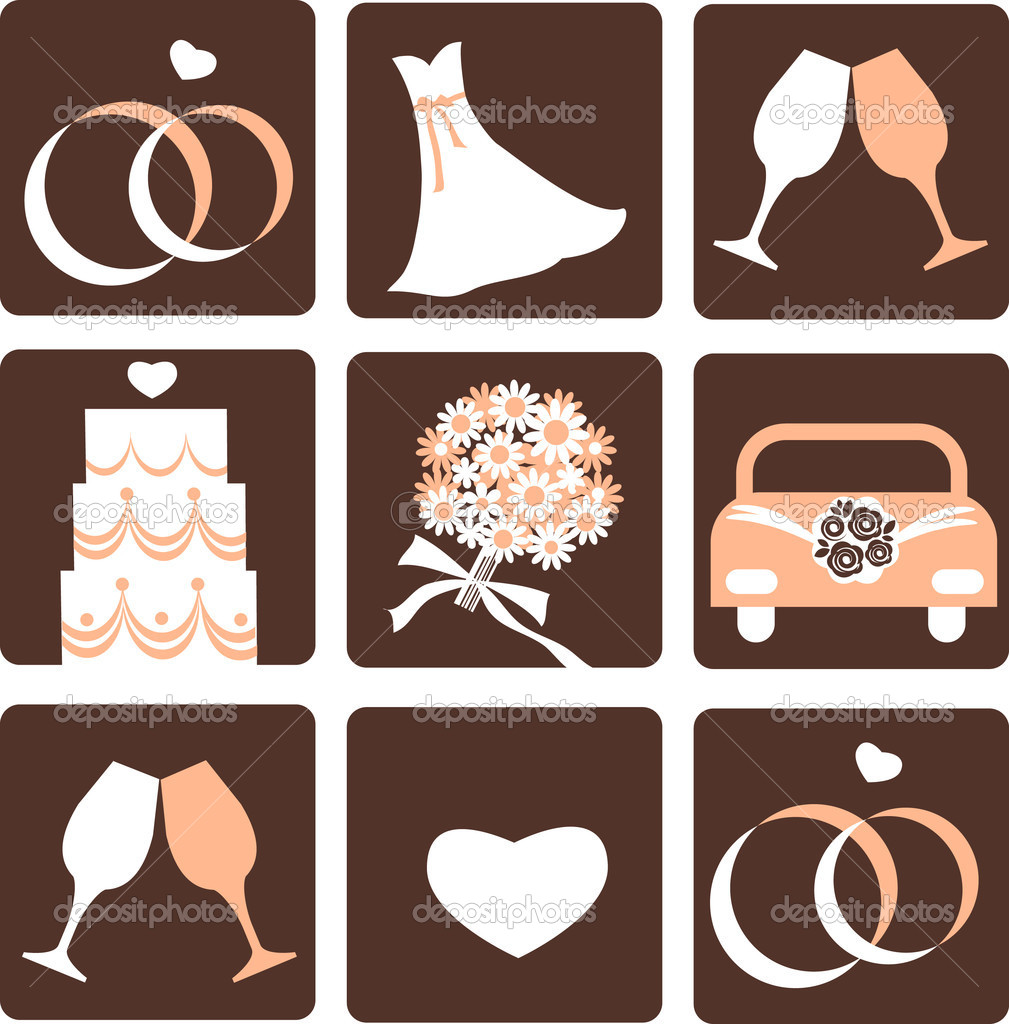 Hochzeit Symbole