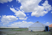Yurt mongol — Stock Photo