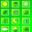 Eco icons — Stock Vector #11416734