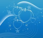 Soft blue abstract background — Stock Photo