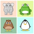 Another Cute Animal — Imagen vectorial