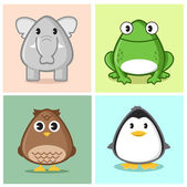 Another Cute Animal — Vector de stock