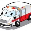 Cartoon Ambulance — Stock Vector #11397750