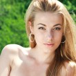 Attractive woman outdoors - Foto de Stock  