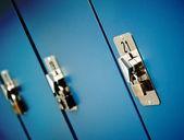 ロッカーのドア — ストック写真