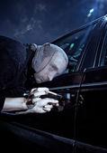 Car Thief — Stock Photo