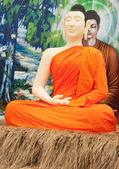 The monk — Zdjęcie stockowe