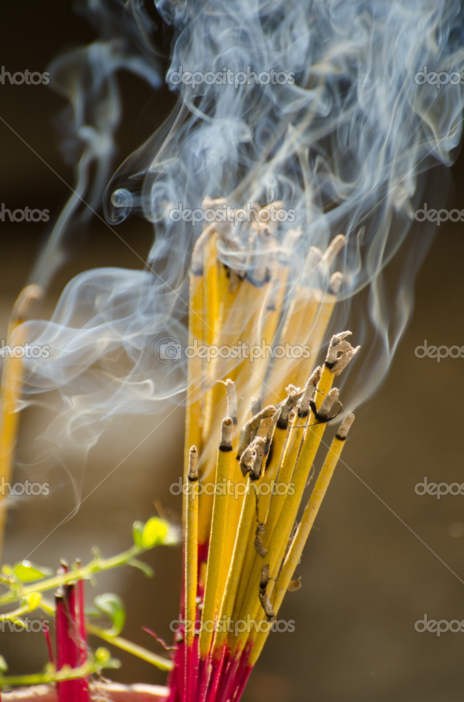 The prayer in the religious thai tradition — Stock Photo #11340110