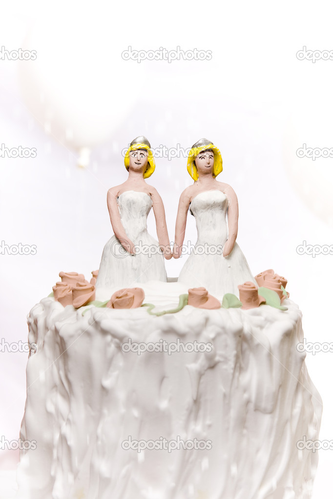 Gay same sex marriage concept — Stock Photo #11323362