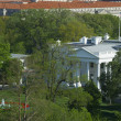 Royalty-Free Stock Photo: The White House from a high view.