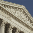 Supreme Court, USA, Frieze in Daylight — 图库照片