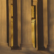 Royalty-Free Stock Photo: Supreme Court, USA, Detail at the golden hour