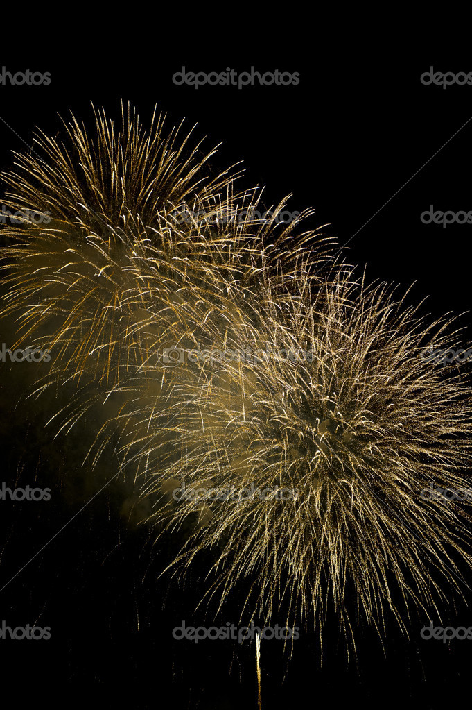 4th of July fireworks over Washington DC.  Stock Photo #11577773