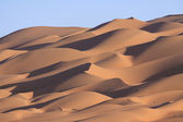 Lines of sand dunes — Stock Photo