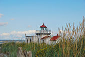 Point No Point Lighthouse 2 — Stock Photo