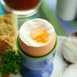 Royalty-Free Stock Photo: Boiled Egg Breakfast