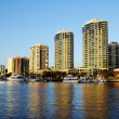 Dockside Marina Brisbane Australia — Stock Photo