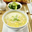 Chicken And Corn Soup — Stock Photo #11386070