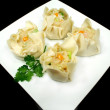 Dim Sums Ready For Steaming — Stock Photo