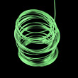 Green Fuse Wire - Stock Photo