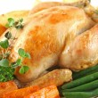 Roast Chicken And Vegetables — Stock Photo #11386758