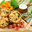 Stock Photo: Savory Muffins