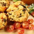 Savory Muffins — Stock Photo