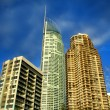 Surfers Paradise Towers — Stock Photo