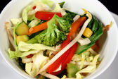 Asian Stir Fry Vegetables — Stock Photo