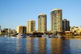 Dockside Marina Brisbane Australia — Stock Photo
