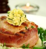 Chicken Fillet Mignon — Stock Photo