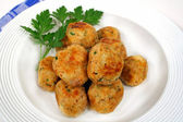Chicken Meat Balls — Stock Photo