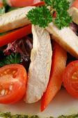 Chicken Pesto Salad — Stock Photo