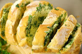 Herb And Garlic Bread — Stock Photo