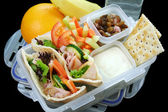 Healthy Kids Lunch Box — Stock Photo