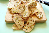 Pistachio Bread — Stock Photo